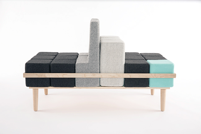 fleksibel blok Sofa design